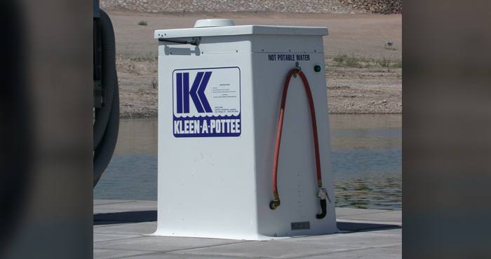 'Kleen-A-Pottee' Dump Station