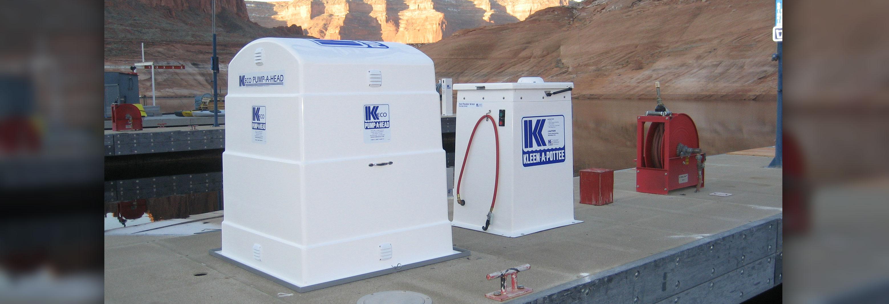 kleen a pottee, marine waste pump out systems, marine pump out station, marine pump out equipment