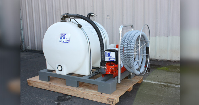 SKID Mounted PumpOut Systems