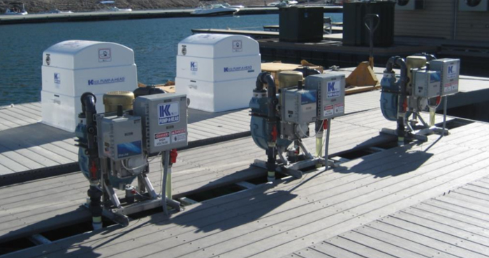 Marine PumpOut Equipment Monitoring