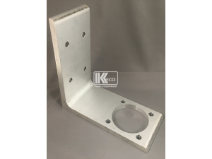 L-Shaped Aluminum Hydrant Bracket