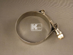 T-Bolt Hose Clamp - Stainless Steel