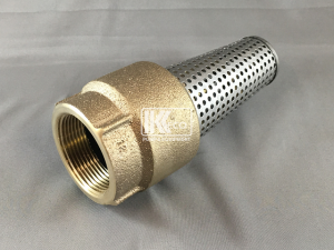 Suction Strainer with Backflow Prevention - 1.5