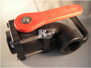 Suction Isolation Valve 90° - Heavy Duty