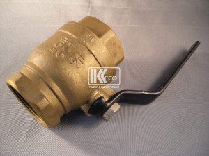 Suction Isolation Valve - Bronze