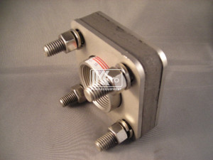 Bolted Bulkhead Fitting - Stainless Steel