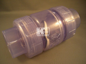 Clear Swing Check Valve - Union