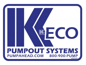 Keco PumpOut Systems - Small Decal