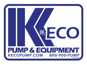 Keco Pump And Equipment - Small Decal
