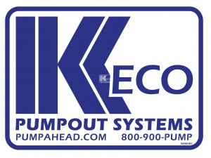 Keco PumpOut Systems - Medium Decal