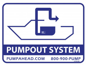 PumpOut Systems (CVA) LOGO Decal