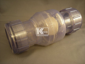 Clear Swing Check Valve - Compression 2