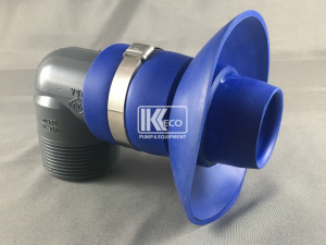 Right Angle Nozzle x Male Thread - 1.5